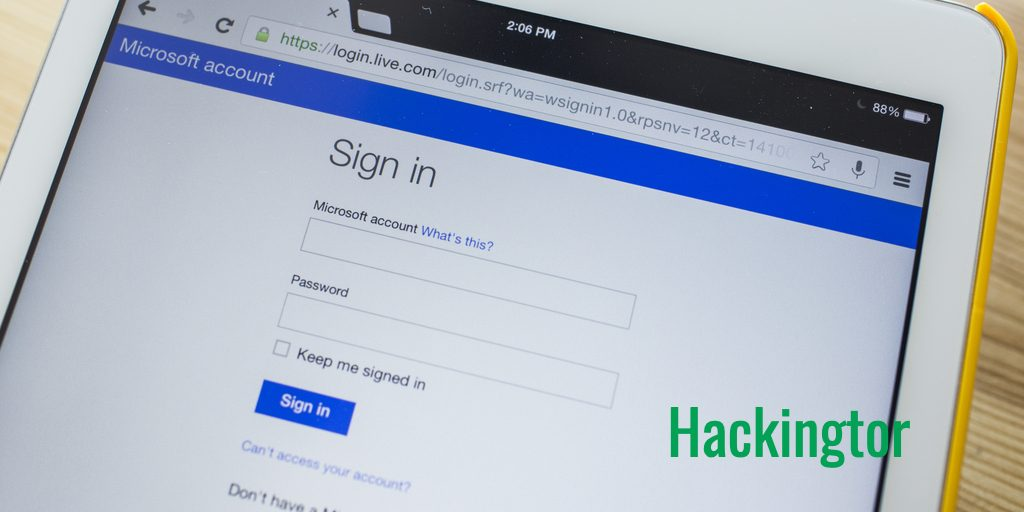 Espiar Hotmail con Hackingtor